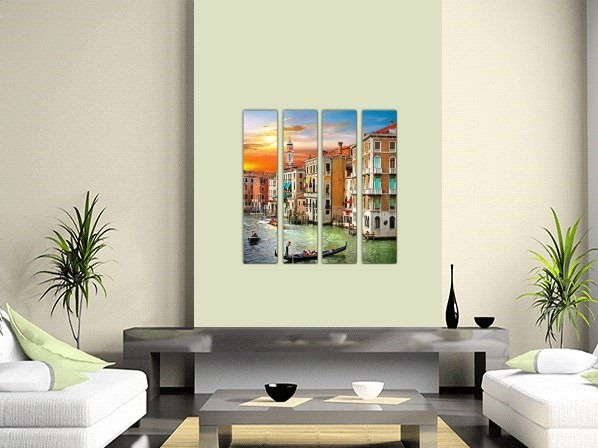 Venice Multi Panel Canvas Prints - 2